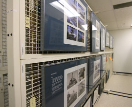 Museum-Storage-Spacesaver-Mobile-Shelving-Art-Rack-Edmonton-8